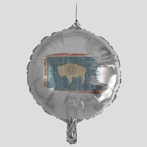 Wyoming Flag Mylar Balloon