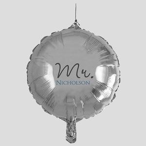 Customizable Name Mr Mylar Balloon