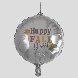 Happy Fall Yall! Balloon
