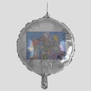 We Three Kings Mylar Balloon
