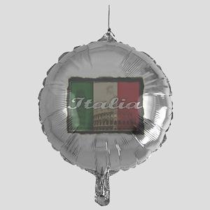 2-Italia Mylar Balloon