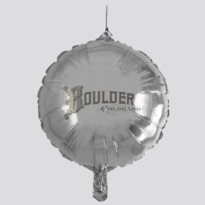 Boulder Colorado Mylar Balloon