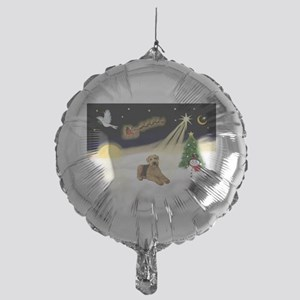 Night Flight/Airedale #5 Mylar Balloon