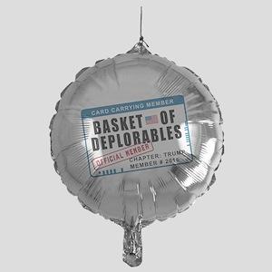 Basket of Deplorables Mylar Balloon