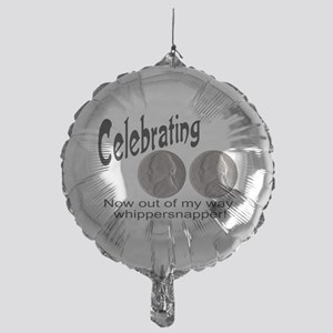 doublenicklewhippersnapper Mylar Balloon