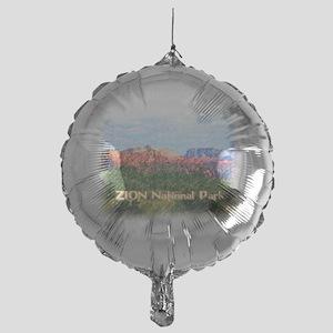 Zion National Park, Utah Mylar Balloon