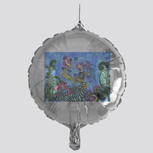 Mermaid Sisters Mylar Balloon