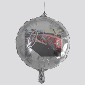 Classic car dashboard Mylar Balloon