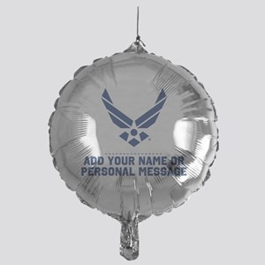 PERSONALIZED U.S. Air Force Logo Balloon