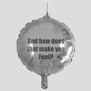 therapy Mylar Balloon