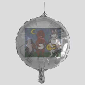 Country Dogs Mylar Balloon