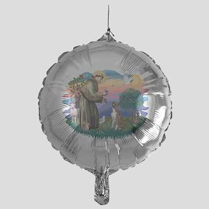 St.Francis #2/ Boxer (nat ea Mylar Balloon