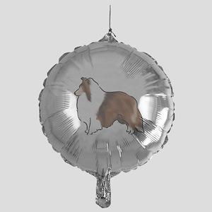 sable sheltie Balloon