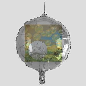 Peace – Golden and Emerald Serenity Mylar Balloon