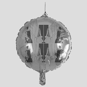 1920s flapper 2 Mylar Balloon