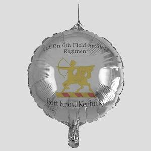 1st Bn 6th FA Mylar Balloon