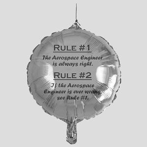 Rule Aerospace Engineer Mylar Balloon
