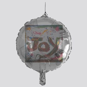 joy Mylar Balloon