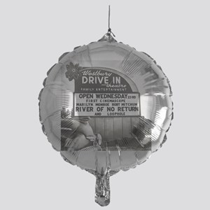 Drive-In Theater Marquee, 1954 Mylar Balloon