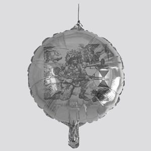 Small Lightfighter Poster Mylar Balloon
