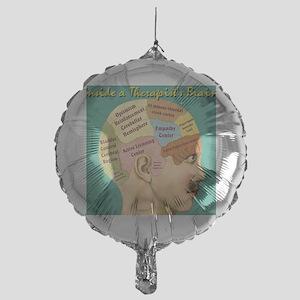 Inside a Therapists Brain Mylar Balloon