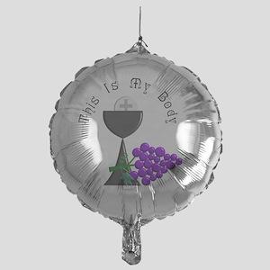 Eucharist Chalice Mylar Balloon