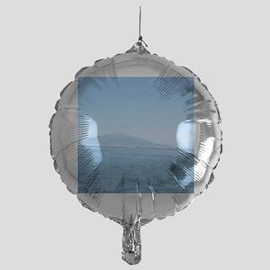 Mt. Vesuvius  Mylar Balloon