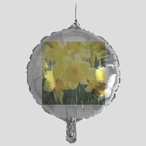 Trumpet Daffodil Mylar Balloon