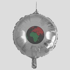 Marcus Garvey's Globe Mylar Balloon