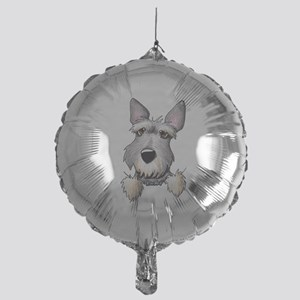 Pocket Schnauzer Mylar Balloon