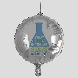 Happens In The Lab Mylar Balloon