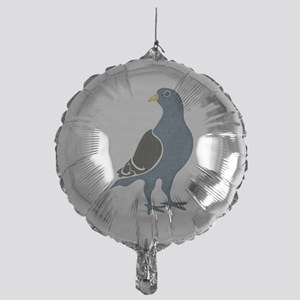 Fashionista Pigeon copy Mylar Balloon