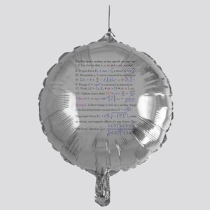 Equations Mylar Balloon