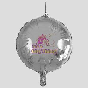 4x4 Girl Thing Mylar Balloon