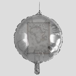 Vintage Map of Africa (1852) Mylar Balloon