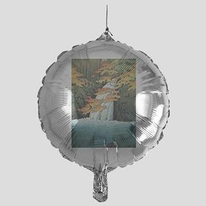 Senju Waterfall, Akame - Kawase Hasu Mylar Balloon