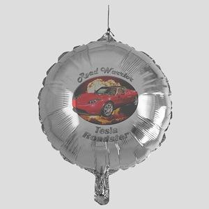 Tesla Roadster Mylar Balloon