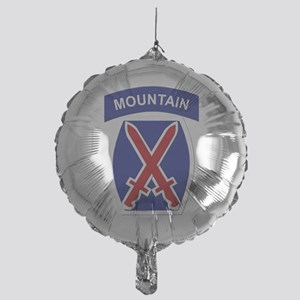 SSI - 10th Mountain Division Mylar Balloon