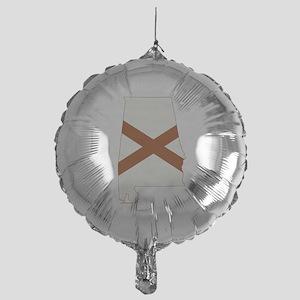 Alabama Flag Mylar Balloon