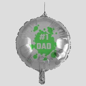 Number One Dad Mylar Balloon