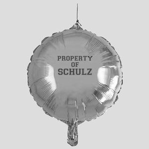 Property of SCHULZ Mylar Balloon