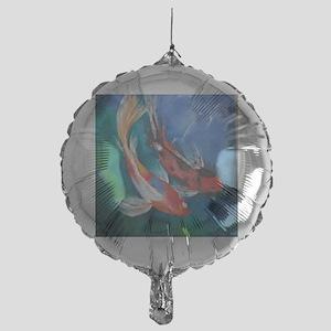 Koi Fish Cool Mylar Balloon