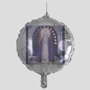 KUAN YIN WATER-MOON GODDESS BLESSING Mylar Balloon