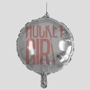 girl2 copy Mylar Balloon