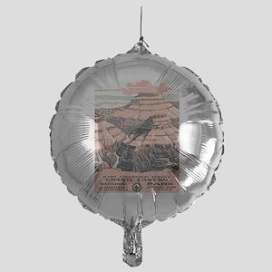 Vintage poster - Grand Canyon Mylar Balloon