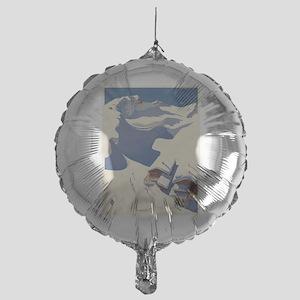 Vintage poster - Austria Mylar Balloon