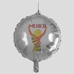 Vintage Mexico Travel Balloon