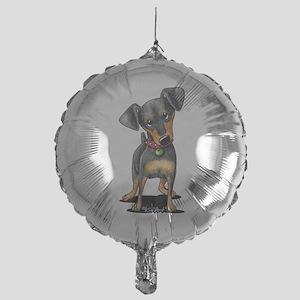 Min Pin Mylar Balloon