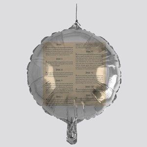 billofrights Mylar Balloon