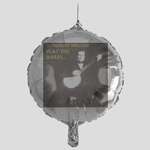 A Gentleman Mylar Balloon